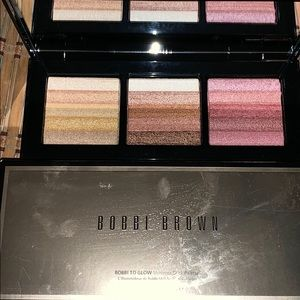BOBBI BROWN 'BOBBI TO GO SHIMMER BRICK PALETTE